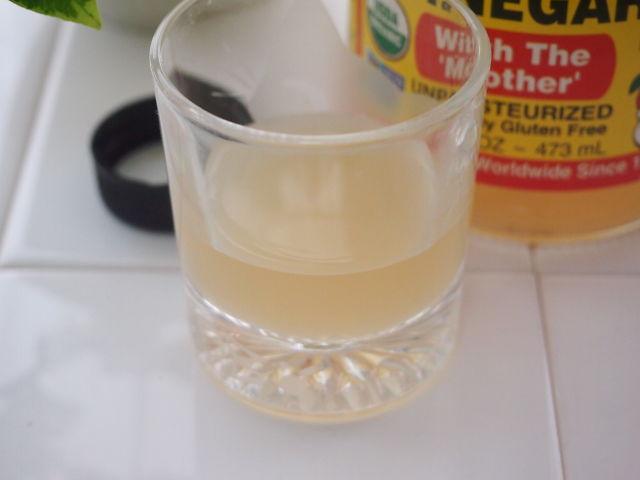 りんご酢の写真