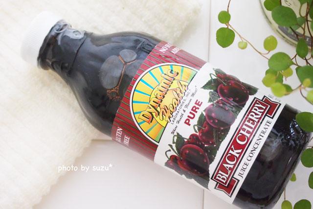ブラックチェリージュースの写真