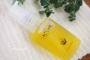 【髪の保湿に】Acure, エッセンシャルズモロッカンアルガンオイルのレビュー