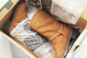 GILT(ギルト)に初めて返品しました。ティンバーランドの靴が、冷えとり靴下のおかげで履けなかった(涙