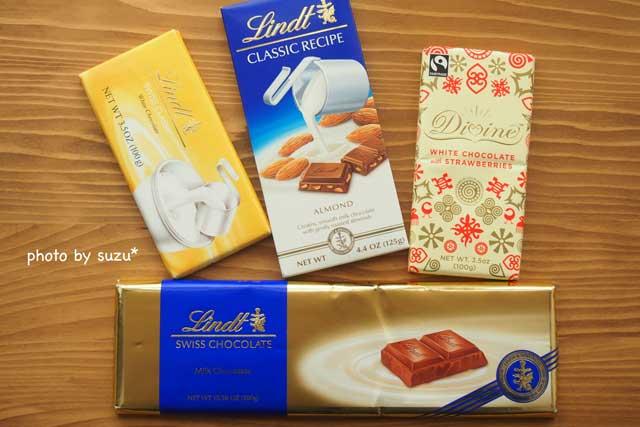 チョコレート系の写真