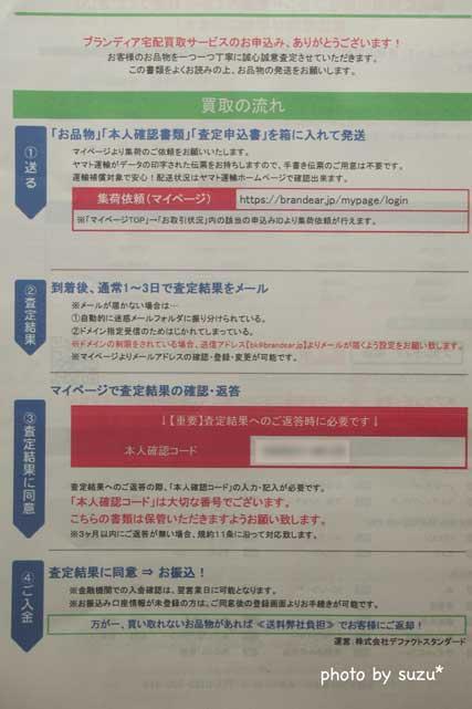 申込書の画像