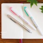 ペンと手帳の画像