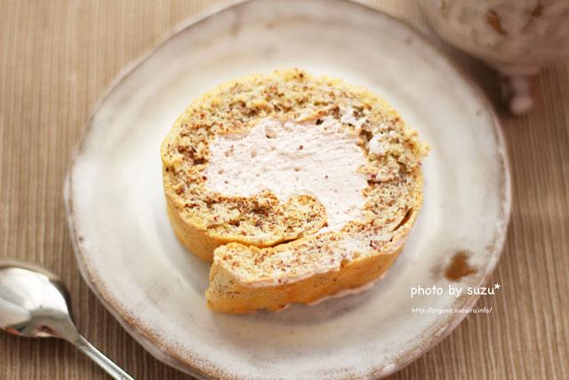 ロールケーキの画像