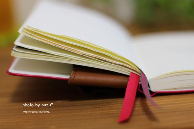 手帳を広げた画像