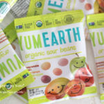 YumEarth, Organic Sour Beans,の袋の画像