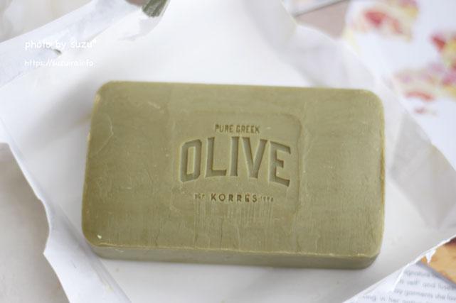 KORRES OLIVE Olive Blossom Soap (コレス オリーブ オリーブ ブロッサム ソープ)