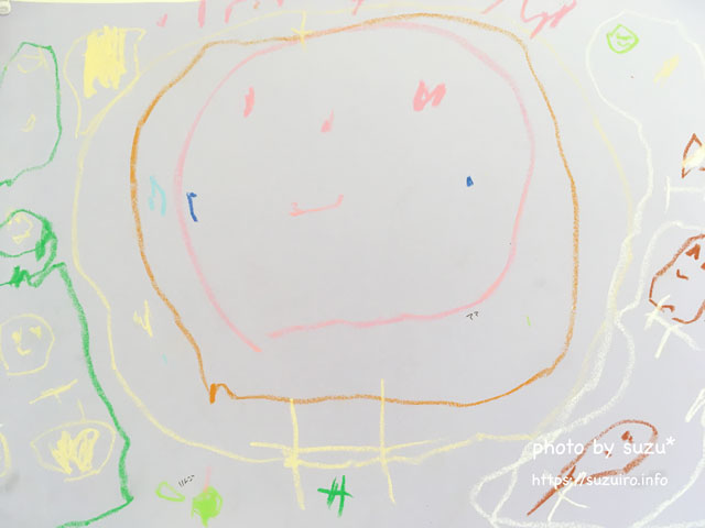 娘の絵の画像