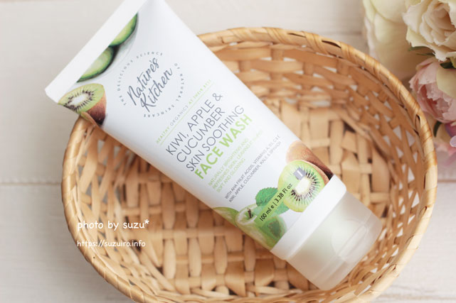Nature's Kitchen Kiwi, Apple & Cucumber Skin Soothing Face Wash 100ml