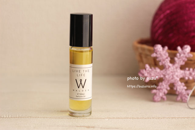 Walden 'Live The Life' Natural Perfume Oil 10ml