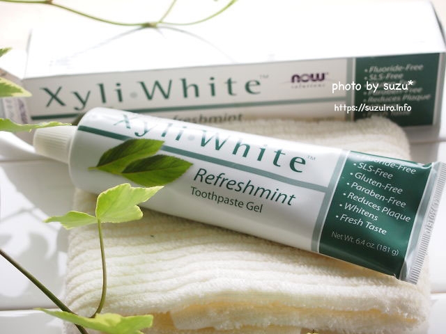 Now Foods, ソリューション、Xyli−White、歯磨きジェル、リフレッシュミント