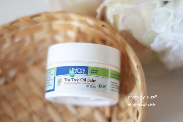 Earth's Care, Tea Tree Oil Balm